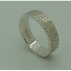 Glittered Textured Ring
